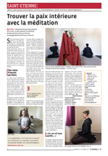 Article de la tribune zen